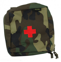 101-INC Molle pouch medic groot #E woodland
