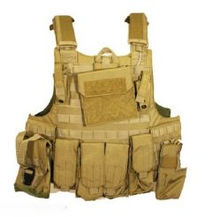 101-INC Tactical vest Raptor khaki
