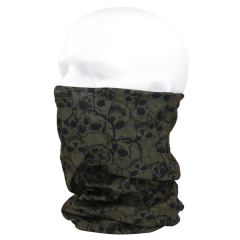 101-inc tactical wrap met skull groen