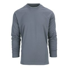 101-INC tactical shirt quick dry lange mouw wolf grey