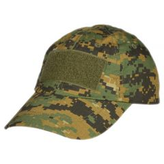 101-INC  baseball cap tactical + velcro digital camo