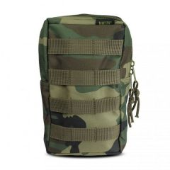 101-inc molle pouch upright woodland