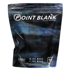 Airsoft BB's 0.28G Point Blank 1 Kg