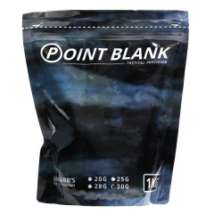 Airsoft BB's 0.30G Point Blank 1 Kg