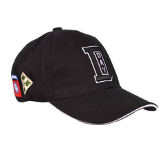 Baseball cap WW II D-day zwart