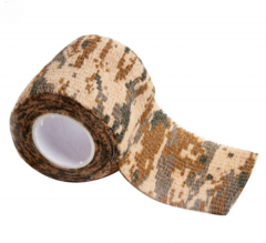 camouflage stealth stretch tape desert