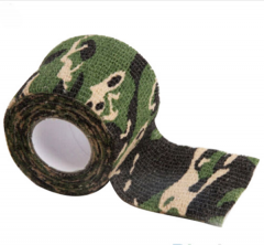 camouflage stealth stretch tape woodland