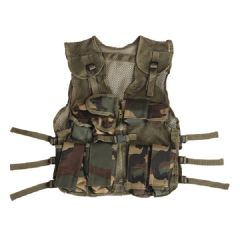 Fostex kinder tactical vest woodland