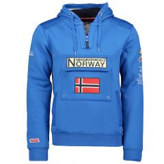 Geographical Norway Gymclass sweater royal blauw