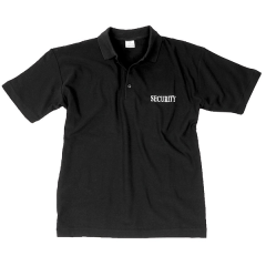 Mil-Tec polo shirt security zwart