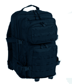 Mil-Tec US army assault rugtas blauw