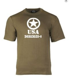 Mil-Tec T-shirt allied star