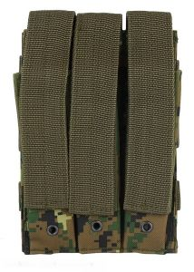 101-INC molle pouch side arm 3 magazijnen met sluiting #D digital camo