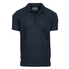 101-INC tactical polo shirt blauw quick dry