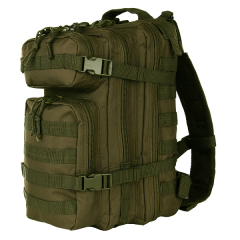Stealth rugtas assault 25L groen