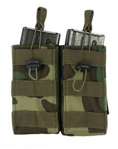 101-INC molle pouch mag. open #F woodland
