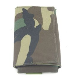 Molle pouch foldable tool #N woodland