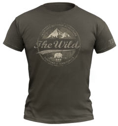 720gear T-shirt the wild groen