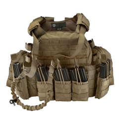101-INC Tactical vest Operator coyote