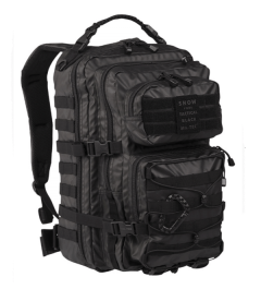 Mil-Tec US assault rugtas tactical black