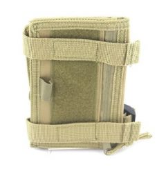 101-INC Molle pouch wrist office#R khaki