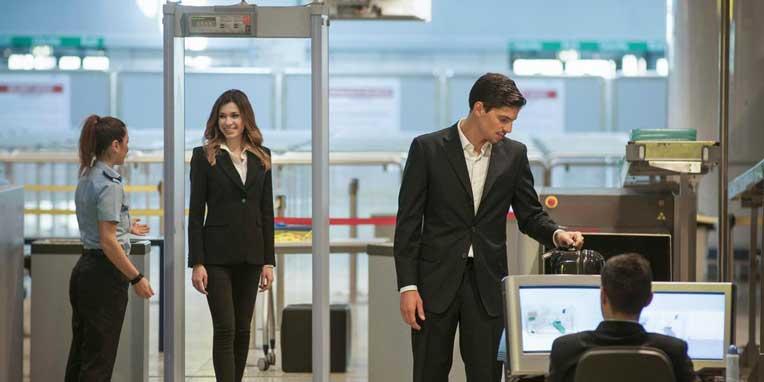 luchthaven beveiliging